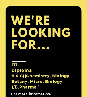 Pharma Company Recruitment ITI and Diploma Candidates | All States Candidates Can Apply