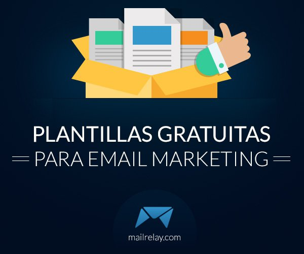 Plantillas gratuitas para email marketing.