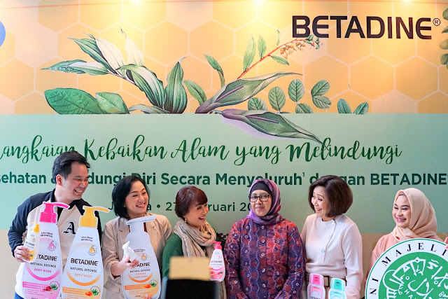 BETADINE NATURAL SERIES