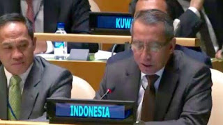 beberkan kejahatan Israel di Palestina pada sidang PBB