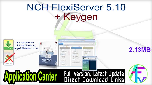 NCH FlexiServer 5.10 + Keygen