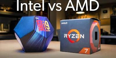 Perbedaan Prosesor Intel dengan AMD