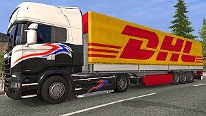 DHL Schmitz trailer mod