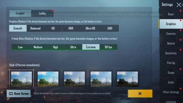 حل مشكلة التقطيع في لعبة ببجي موبايل على GameLoop
