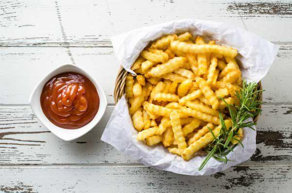 Những món ăn nhanh: Khoai tây chiên