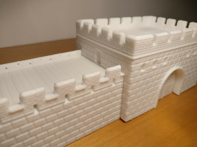 10mm Scale Ancient Great Wall of China picture 10