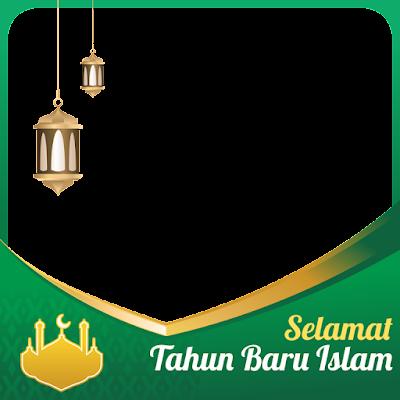 Twibbon Tahun Baru Islam 1443 H Tahun 2021
