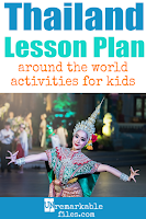 Building the perfect Thailand lesson plan for your students? Are you doing an around-the-world unit in your K-12 social studies classroom? Try these free and fun Thai activities, crafts, books, and free printables for teachers and educators! #Thailand #lessonplan
