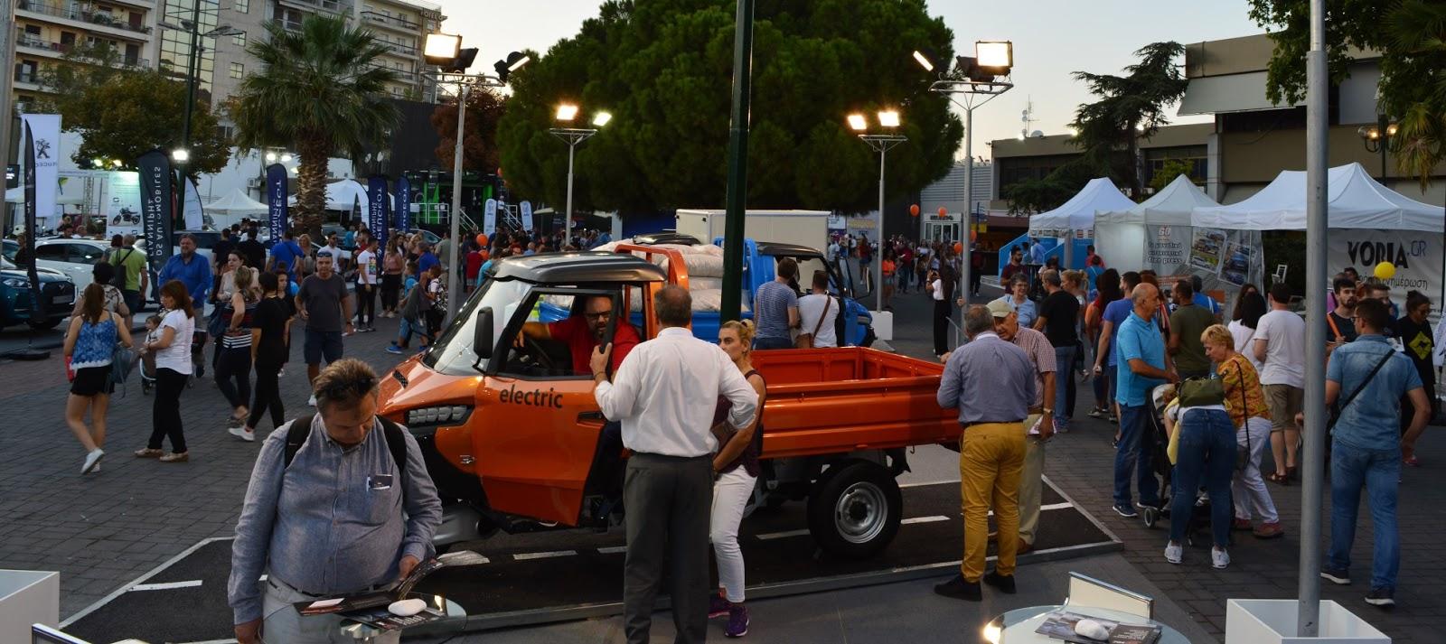 Το επαγγελματικής χρήσης ηλεκτρικό 3ΜΧ «έκλεψε» τις εντυπώσεις στη Διεθνή Έκθεση Θεσσαλονίκης 2019