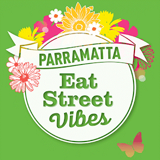 Poster for Parramatta's Eat Street Vibes