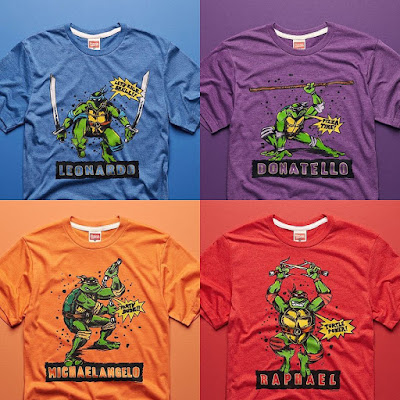 Teenage Mutant Ninja Turtles T-Shirt Collection by HOMAGE