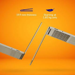 lenovo thin laptop