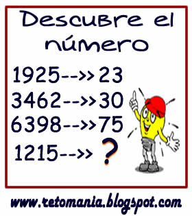 Cuadrados mágicos, Descubre el número, El número que falta, Retos para pensar, Problemas matemáticos, Retos matemáticos, Desafíos matemáticos, Retos de lógica, Problemas para pensar