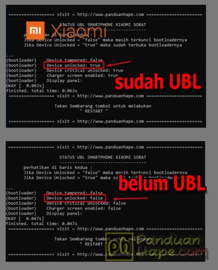 2 Cara Mudah Mengecek UBL (Unlock Bootloader) di Xiaomi MIUI 8, 9 dan MIUI 10