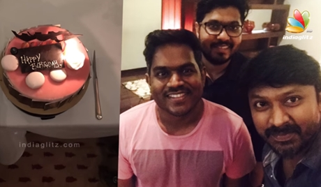 Yuvan Shankar Raja Birthday Celebration with Family & Celebrities Wishes