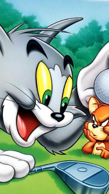 wallpaper iphone cute tom and jerry