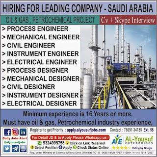 Petrochemical Project in Saudi Arabia