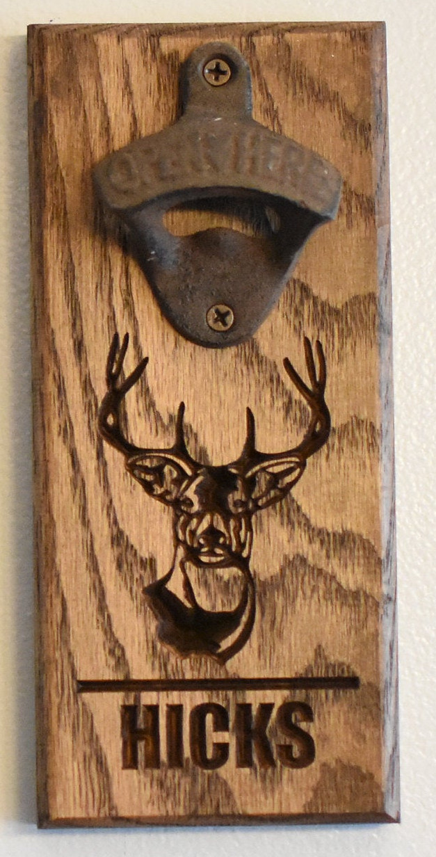 Deer Bottle Opener - Hicks Style