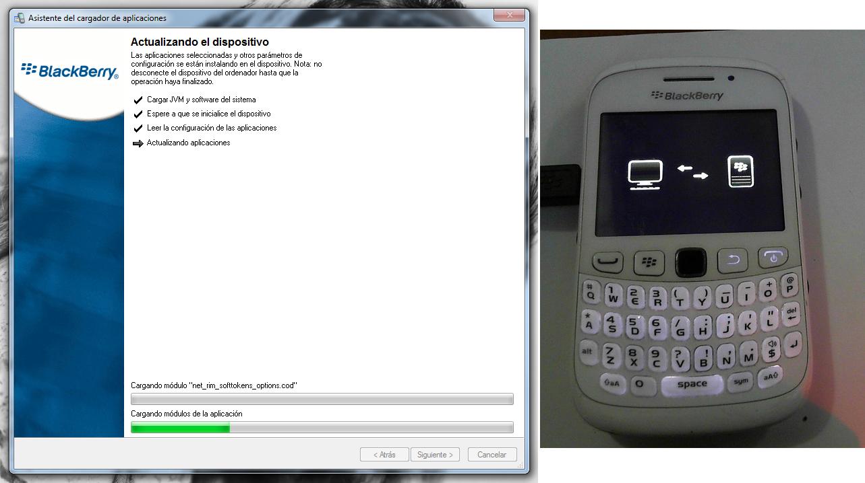 Instalando software con el asistente del cargador de aplicaciones.