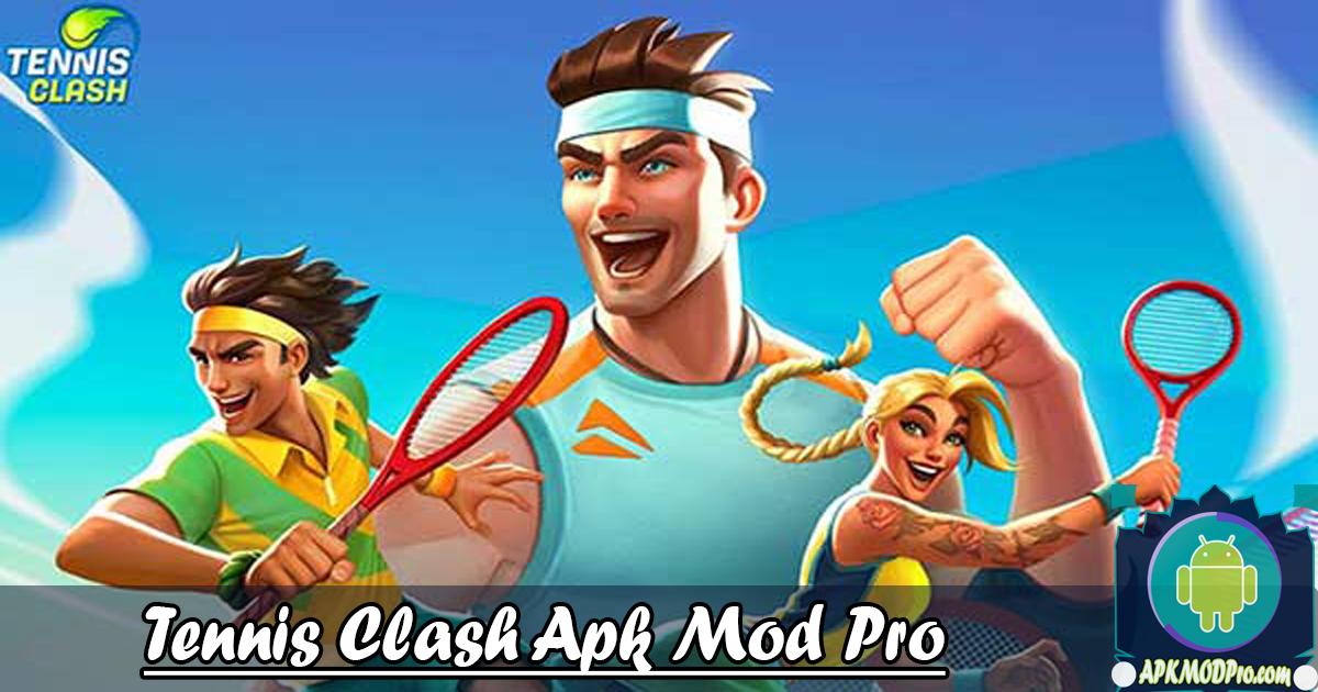Download Tennis Clash: 3D Sports  MOD APK v1.9.2 Terbaru 2020