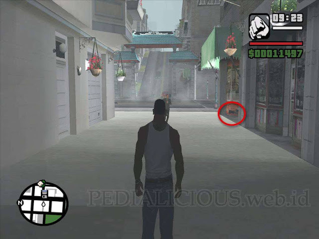 Lokasi Camera (Kamera) di Juniper Hill GTA San Andreas