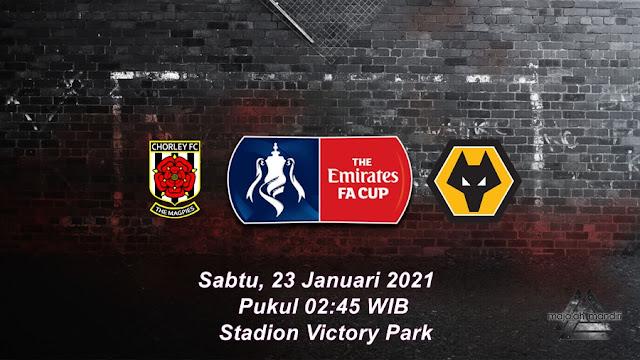 Prediksi Chorley Vs Wolverhampton Wanderers