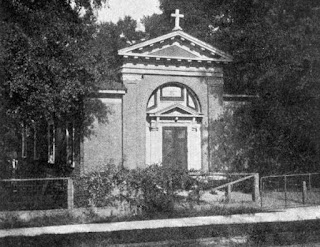 1924 image of Blessed Sacrament Catholic Church in Tallahassee