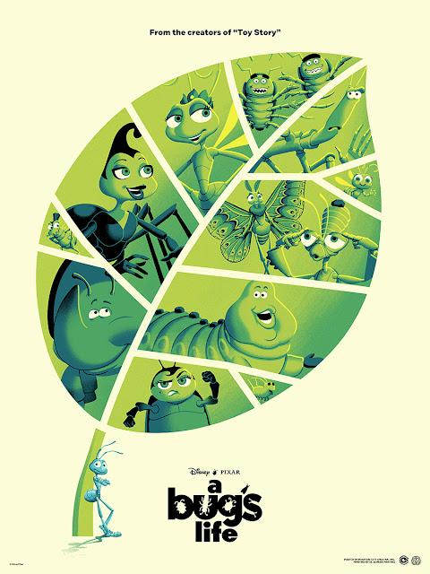 A Bug's Life poster Phantom City Creative Mondo