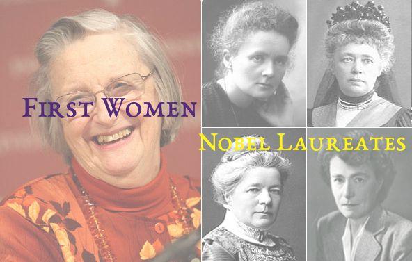 First Woman Nobel Prize Winners