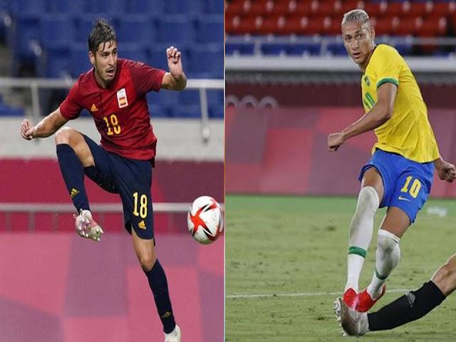 Prediksi Final Olimpiade Bola Putra, Spanyol vs Brasil, Sabtu 7 Agustus 2021