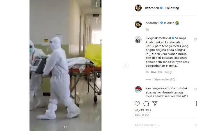Perawat hamil yang diduga menderita COVID-19 meninggal di rumah sakit di Surabaya
