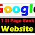 Blog Website Ko Google Ke First Page Par Kaise Dikhaye