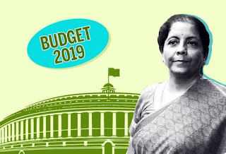 What is the budget of India in 2019?,