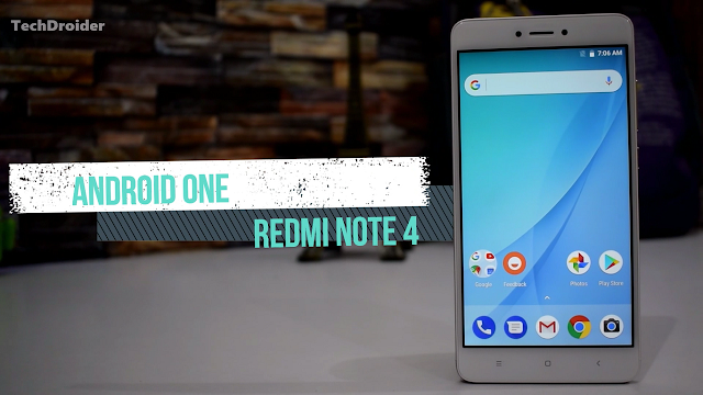 Mi A1 Android One Firmware Ported to the Redmi Note 4