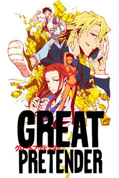 Great Pretender 1ª Temporada Torrent - WEB-DL 1080p Dual Áudio