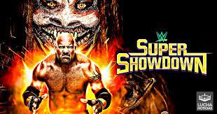 Ver Repetición y Resultados de Wwe Super ShowDown 2020 en Español Completo