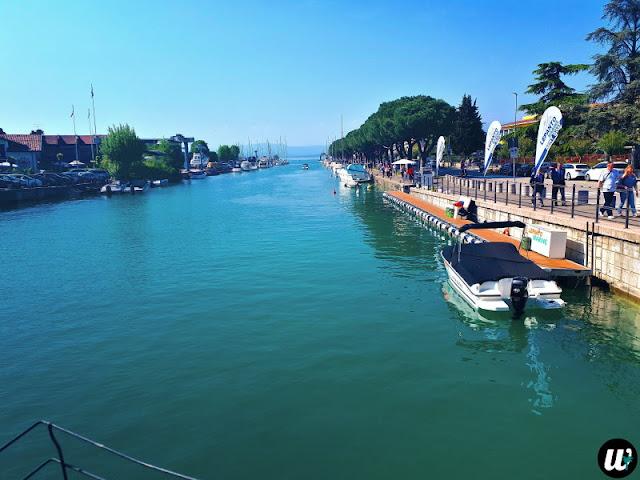 Peschiera del Garda waterway, Lake Garda | Veneto, Italy | wayamaya