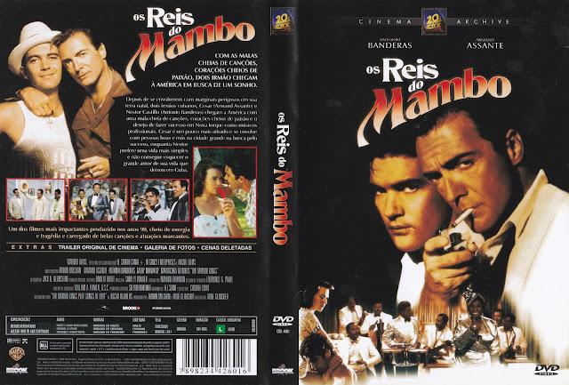 Capa DVD Os Reis Do Mambo