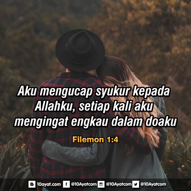 Filemon 1:4