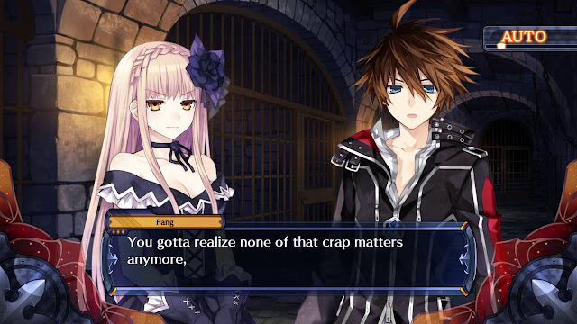 Cut Scene from Fairy Fencer F
