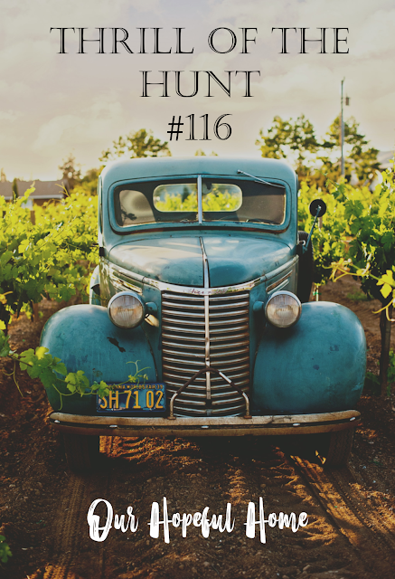 Thrill of the Hunt #116 Our Hopeful Home blog vintage car