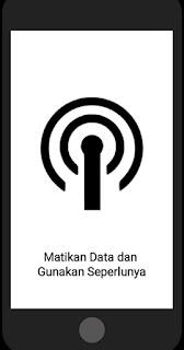 Matikan Data dan Gunakan Seperlunya