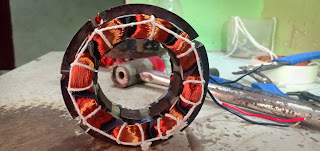 Kitchen Exhaust Fan Motor Rewinding|Exhaust Fan Motor Winding