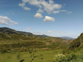 Corta Matamoros desde la carretera a La Reineta
