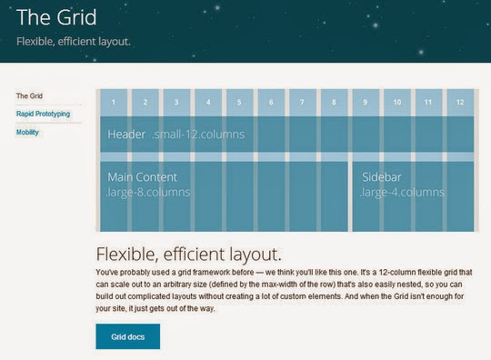 Reflected Pixel Flexible Grid Tools For Responsive Websites