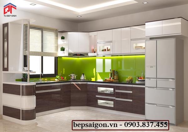tu bep, tủ bếp hiện đại, tủ bếp acrylic, tủ bếp đẹp