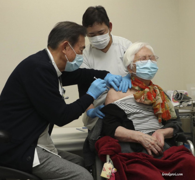 Vaccination against Covid-19 in Japan