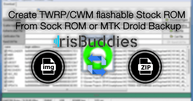 How To Create Twrp/Cwm Flashable Zip - From Sock Rom Or Backup