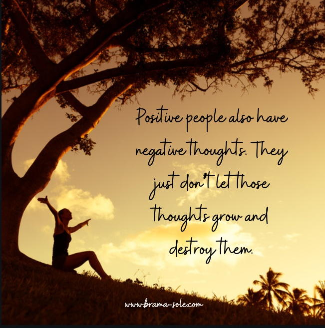 Positive mind quote
