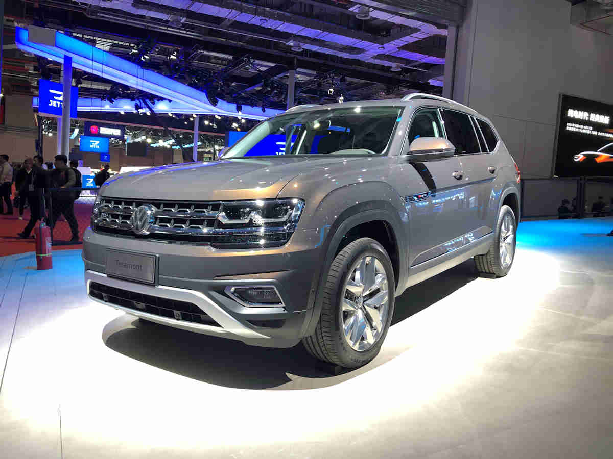 can the volkswagen teramont go against the ford explorer